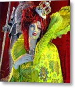 The Queen Of Fashion Metal Print