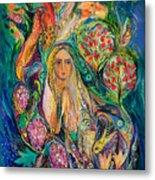 The Queen Of Shabbat Metal Print