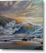 The Radiant Sea Metal Print