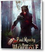 The Rage Of The Werewolf - Version 3 - Metal Print