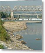 The Railway Bridge Metal Print