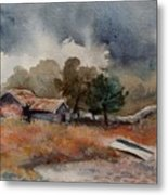 The Rain Is Coming Metal Print