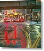 The Rain Painting Metal Print
