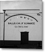 the rainbow ballroom of romance in Glenfarne county leitrim republic of ireland Metal Print by Joe Fox