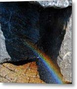 The Rainbow Fountain 3-5 Metal Print