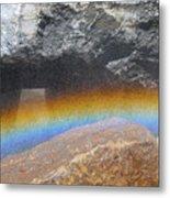 The Rainbow Fountain 5-5 Metal Print
