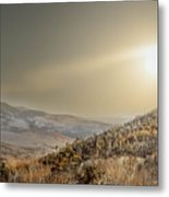 The Range, White Mountains  Metal Print