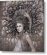 The Ravenous Pregnancy Metal Print