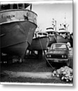 The Real Alaska - Dry Dock 1 Metal Print