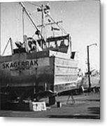 The Real Alaska - Dry Dock 2 Metal Print