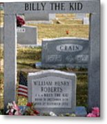 The Real Billy The Kid Metal Print
