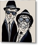 The Real Blues Brothers Metal Print