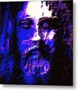 The Real Face Of Jesus Metal Print