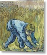 The Reaper After Millet Metal Print