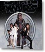The Rebels Phone Case Metal Print