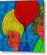 The Red Balloon  Metal Print