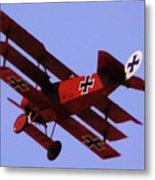 The Red Baron II Metal Print