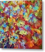 The Red Bouquet Metal Print