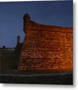The Red Castillo Metal Print