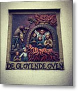 The Red Hot Oven Metal Print