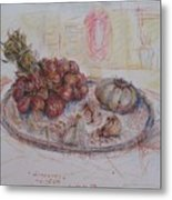 The Red Onion Metal Print