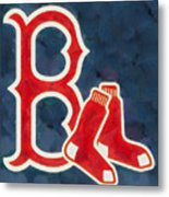 The Red Sox Metal Print