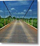 The Regency Bridge 3 Metal Print