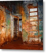 The Renovation Metal Print