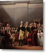 The Resignation Of General George Washington Metal Print