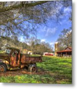 The Resting Place Shadows Metal Print