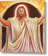 The Resurrection And The Life Metal Print