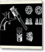 The Revolver Metal Print