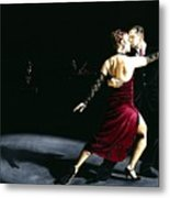 The Rhythm Of Tango Metal Print