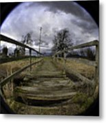 The Rickity Bridge Metal Print