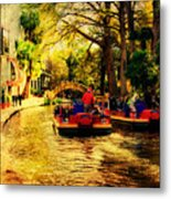 The Ride Metal Print by Iris Greenwell
