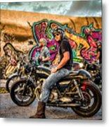The Riders Metal Print