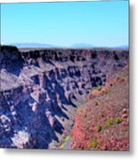 The Rio Grande Gorge Metal Print