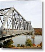 The Rip Van Winkle Bridge 4 Metal Print