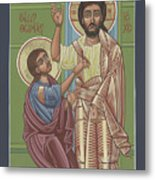 The Risen Lord Appears To St Thomas 257 Metal Print