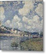 The River At Saint Cloud Metal Print