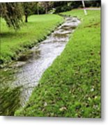 The River Bourne Metal Print