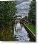The River Foss Meets The River Ouse Metal Print