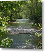 The River In Spring Metal Print