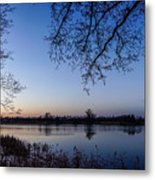 The River Nogat Metal Print