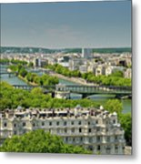 The River Of Paris Metal Print