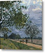 The Road From Versailles To Louveciennes Metal Print
