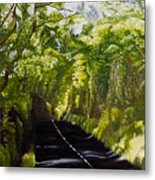 The Road Through Glenastar Metal Print