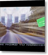 The Road To Nowhere Metal Print