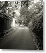 The Road To Nowhere Or Is It Metal Print