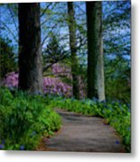 The Road To Peace And Quiet Metal Print